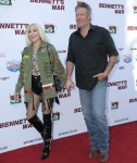 "Gwen Stefani and Blake Shelton enjoy a date night at the LA premiere of ""Bennett's War"""