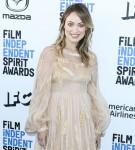 Olivia Wilde arrives at the 2020 Film Independent Spirit Awards