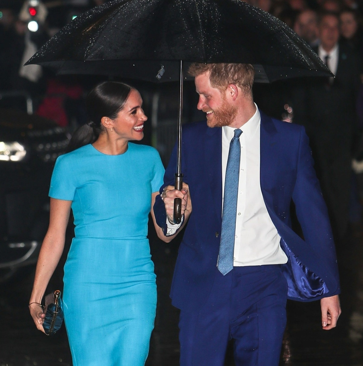 Prince Harry and Meghan Markle attend The Endeavour Fund Awards at Mansion House