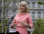 Senior Advisor Kellyanne Conway Addresses The Media Outside The White House