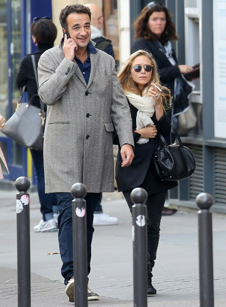 Mary-Kate Olsen Leaving Paris With Her Husband Olivier Sarkozy