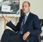 Prince William meets with Chiefs of the PSNI, Fire Service and Ambulance Service in Belfast