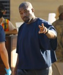 Kanye West grabs lunch at Nobu with friends