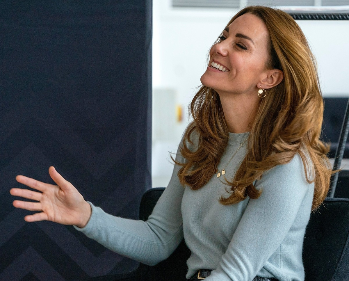 The Duchess of Cambridge visits the University of Derby