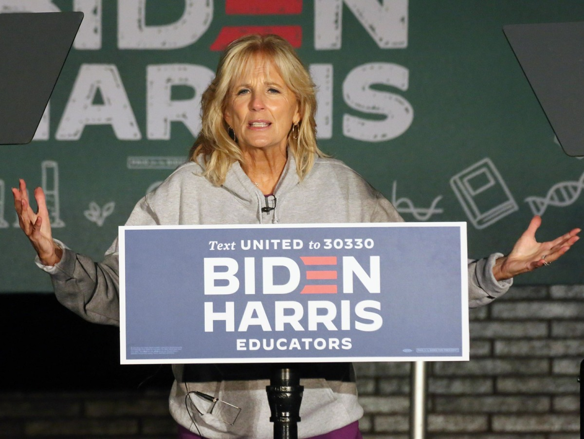 Jill Biden Hosts Educator Mobilization Rally in Montgomery County