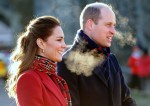The Duke and Duchess of Cambridge meet Cardiff University Students