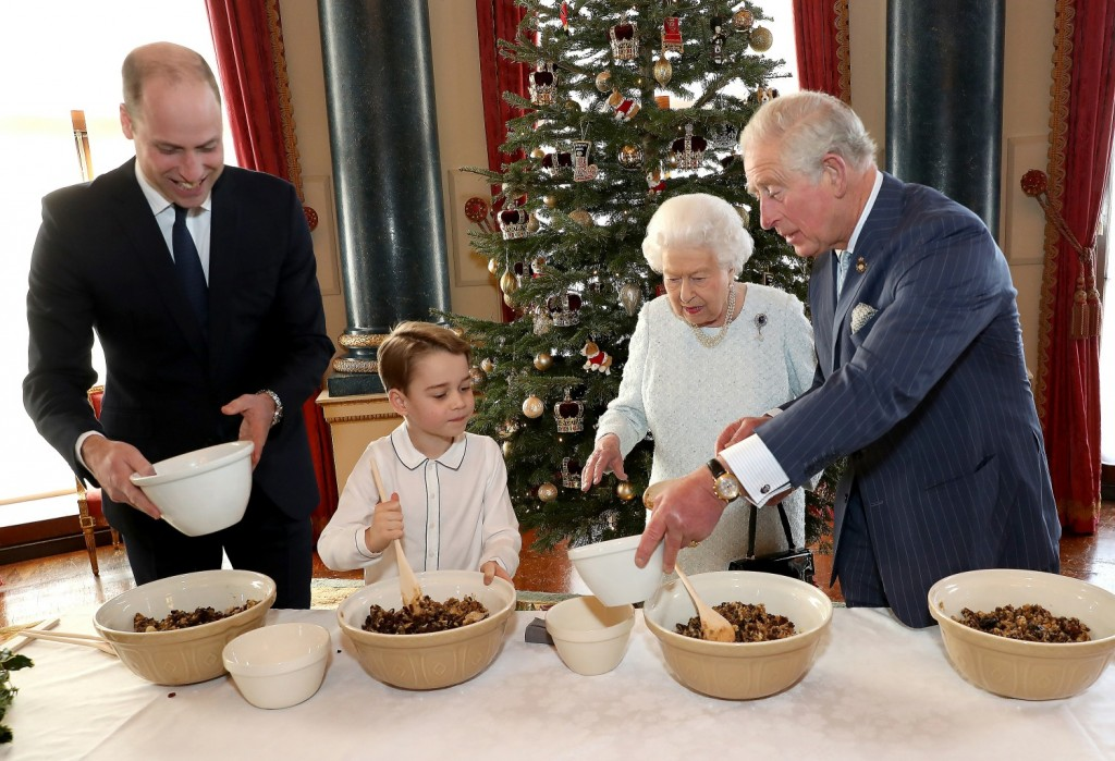 Christmas at Buckingham Palace
