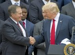 Trump welcomes PM Gentiloni of Italy