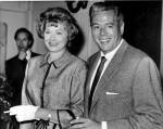 Lucille Ball and husband  Desi Arnaz at