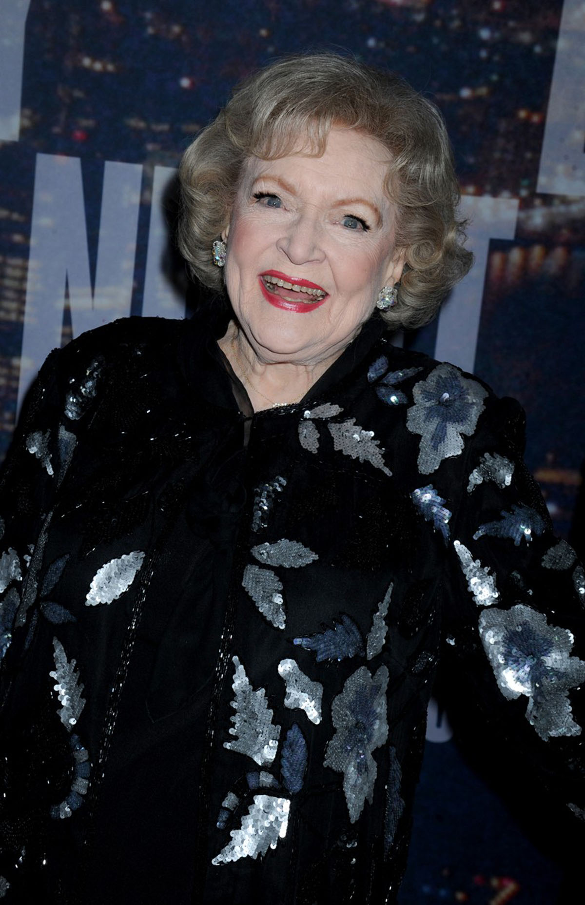 Betty White at arrivals for Saturday Nig..........
