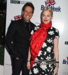 Ioan Gruffudd, Alice Evans  at the Britw....