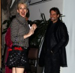 Ioan Gruffudd seen with his wife Alice Evans at Chateau Marmont, LA