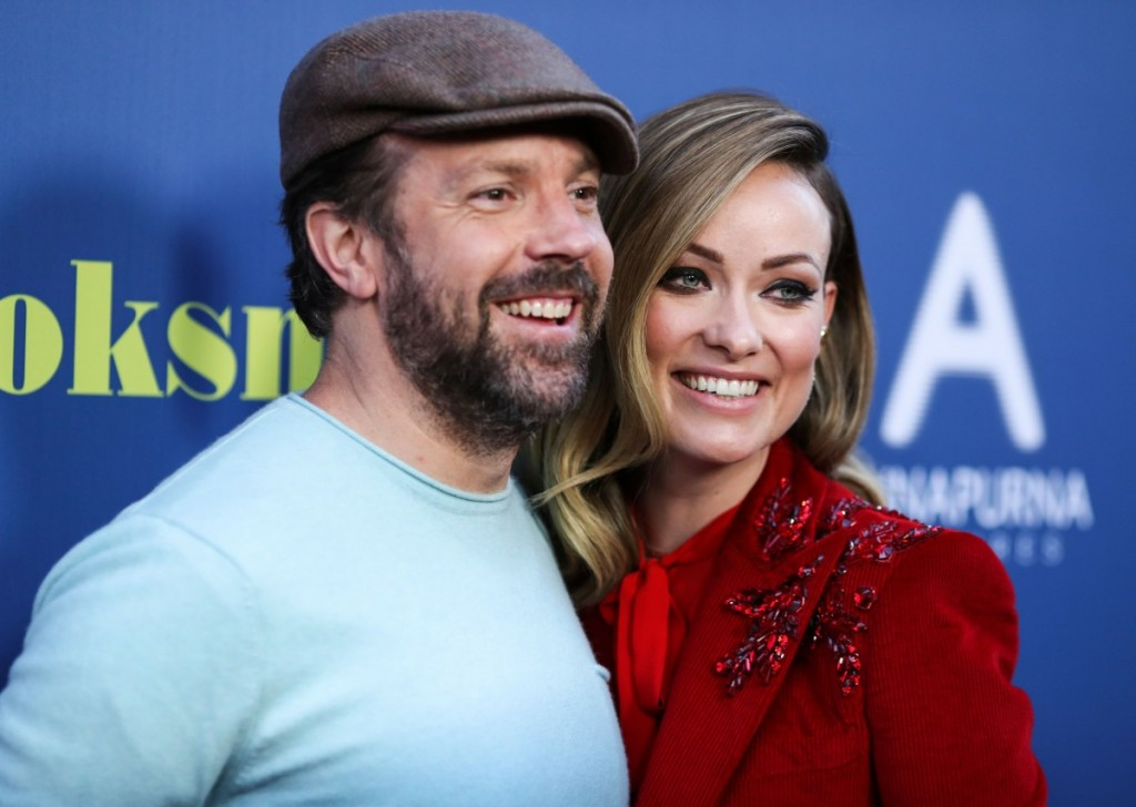 Actor Jason Sudeikis and wife/actress Olivia Wilde arrive at the Los Angeles Special Screening Of Annapurna Pictures' 'Booksmart' held at the Ace Hotel on May 13, 2019 in Los Angeles, California, United States. (Photo by Xavier Collin/Image Press Agency)