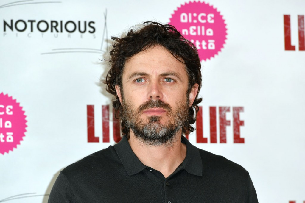 The director and actor Casey Affleck poses for the movie Light of My Life, Rome, Italy - 03-10-2019