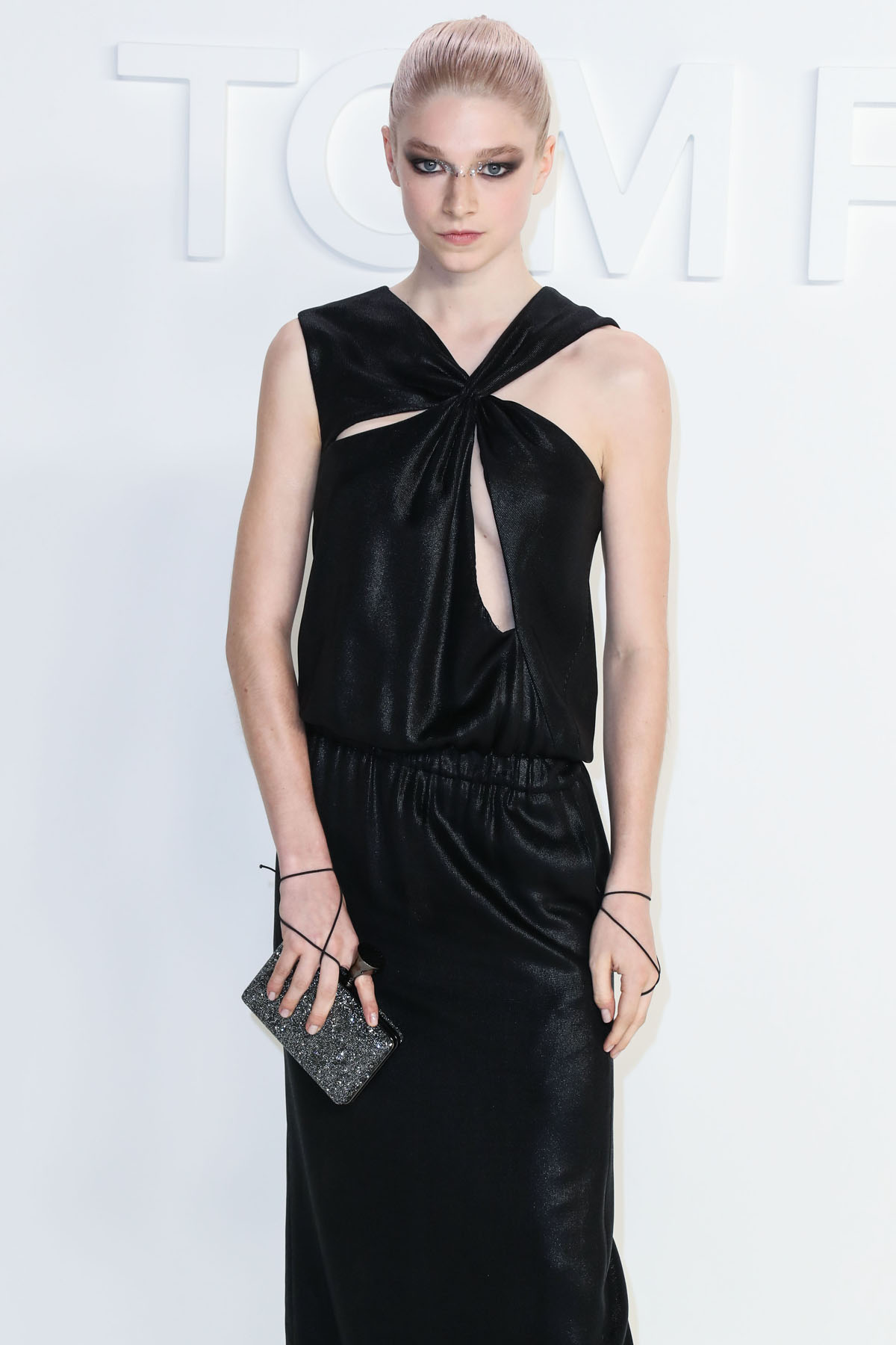 Hunter Schafer arrives at the Tom Ford: Autum...