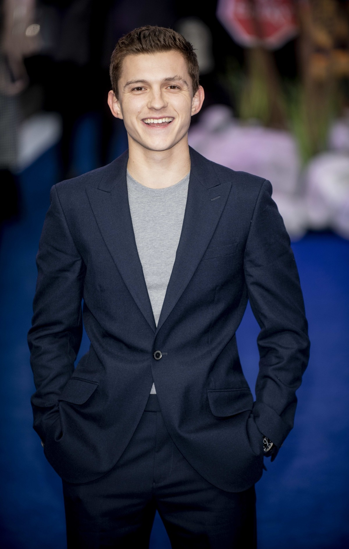 Tom Holland at the 'Onward' film premiere, Curzon Mayfair, London, UK - 23 Feb 2020 photo by Brian...