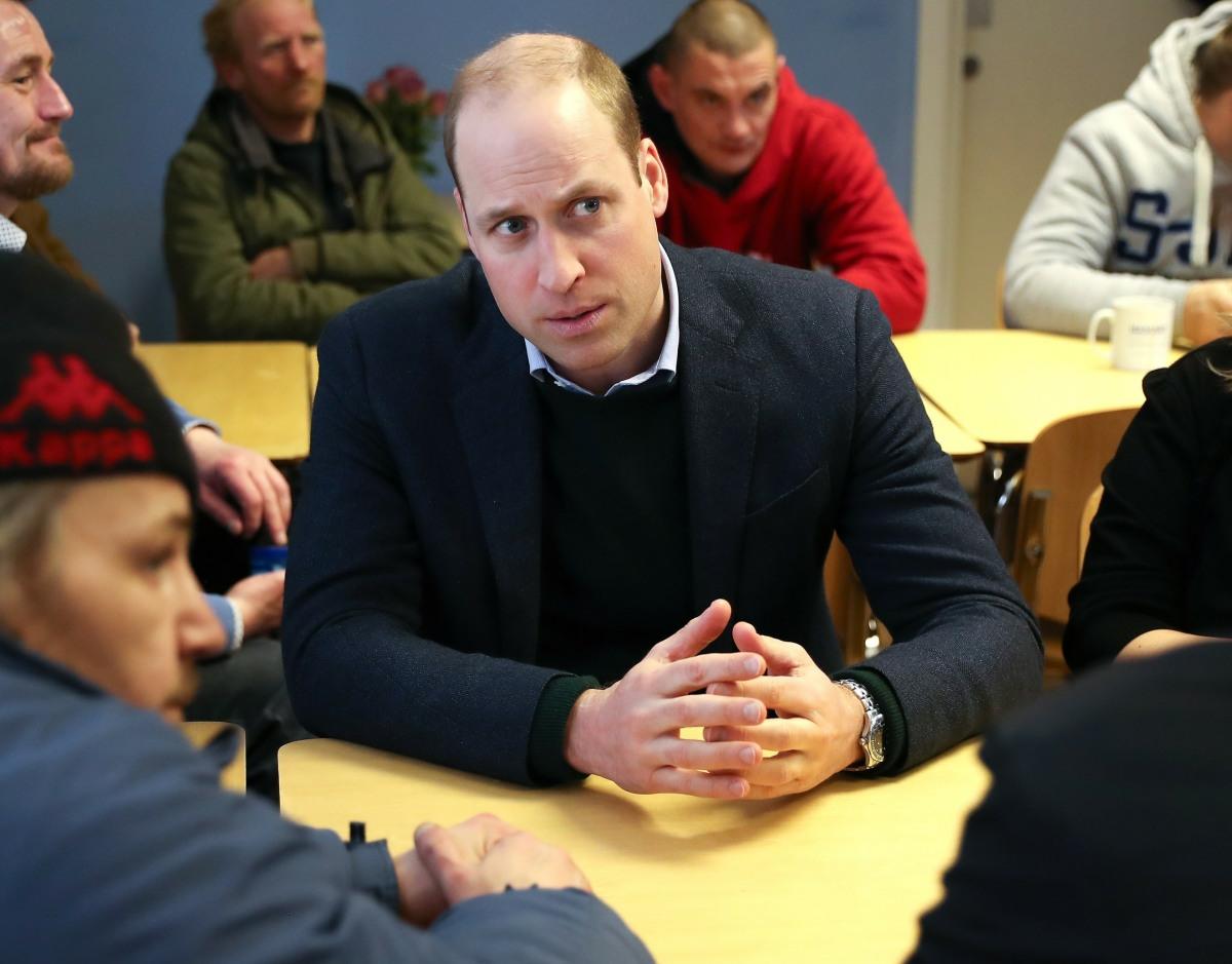 The Duke Of Cambridge Visits Nottinghamshire