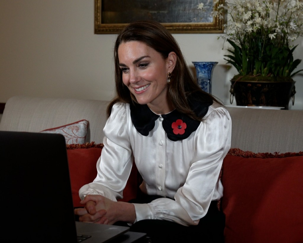 The Duchess of Cambridge marks Remembrance Week