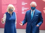 Royal visit to London gallery