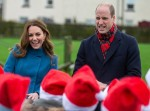 The Duke and Duchess of Cambridge, visit Holy Trinity Church of England First School in Berwick-Upon-Tweed