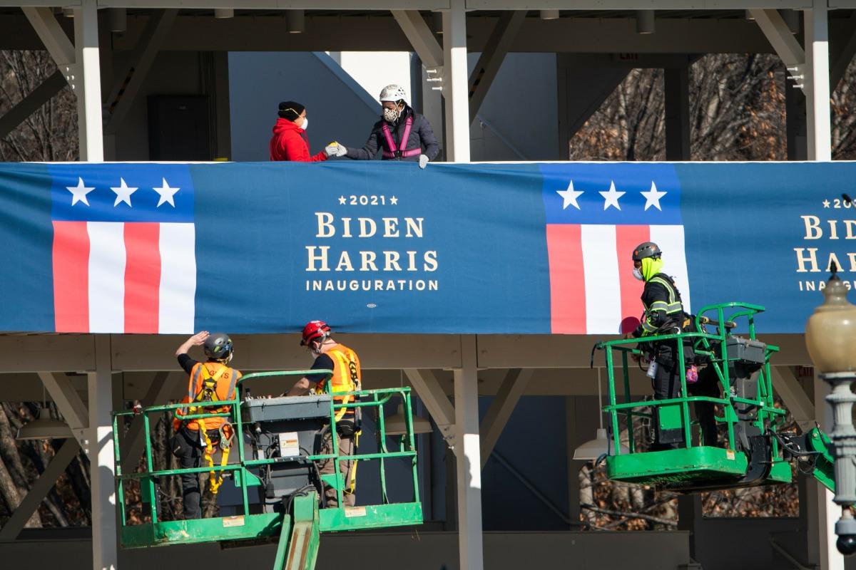 Joe Biden Inauguration prep in DC