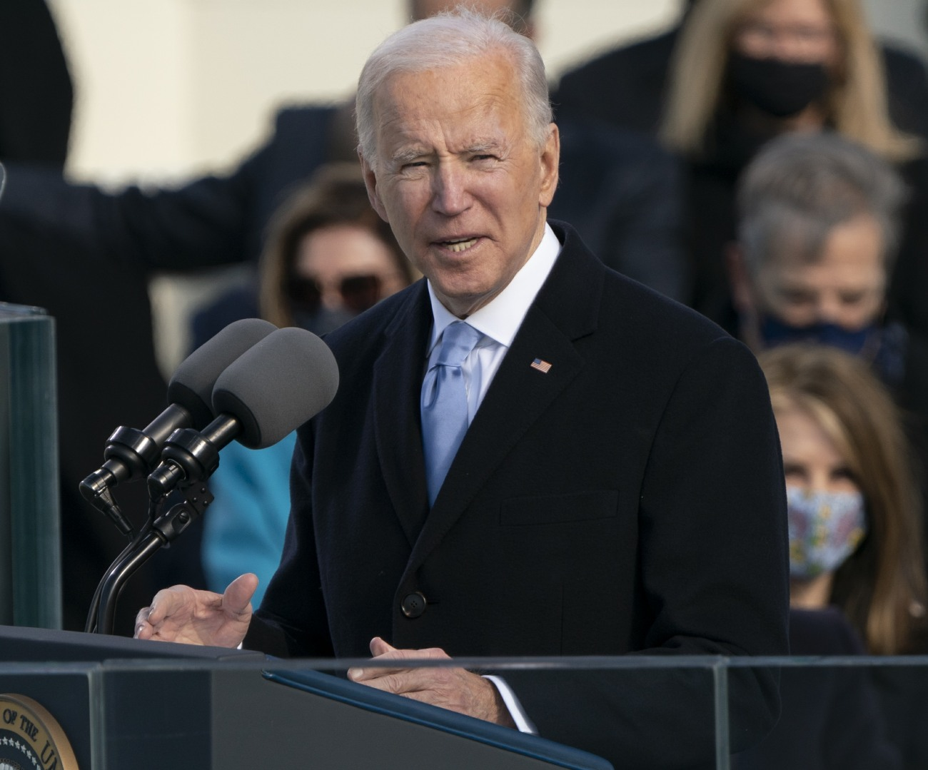 Biden takes the Oath of Office as the 46th President of the US