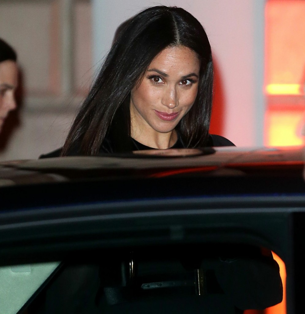 Meghan, Duchess of Sussex attends the Royal Academy of Arts to view Oceania