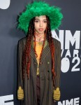 FKA Twigs attending the  NME Awards 2020 at the O2 Academy Brixton, London