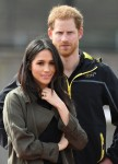 Prince Harry and Meghan Markle attend the Invictus team trials in Bath