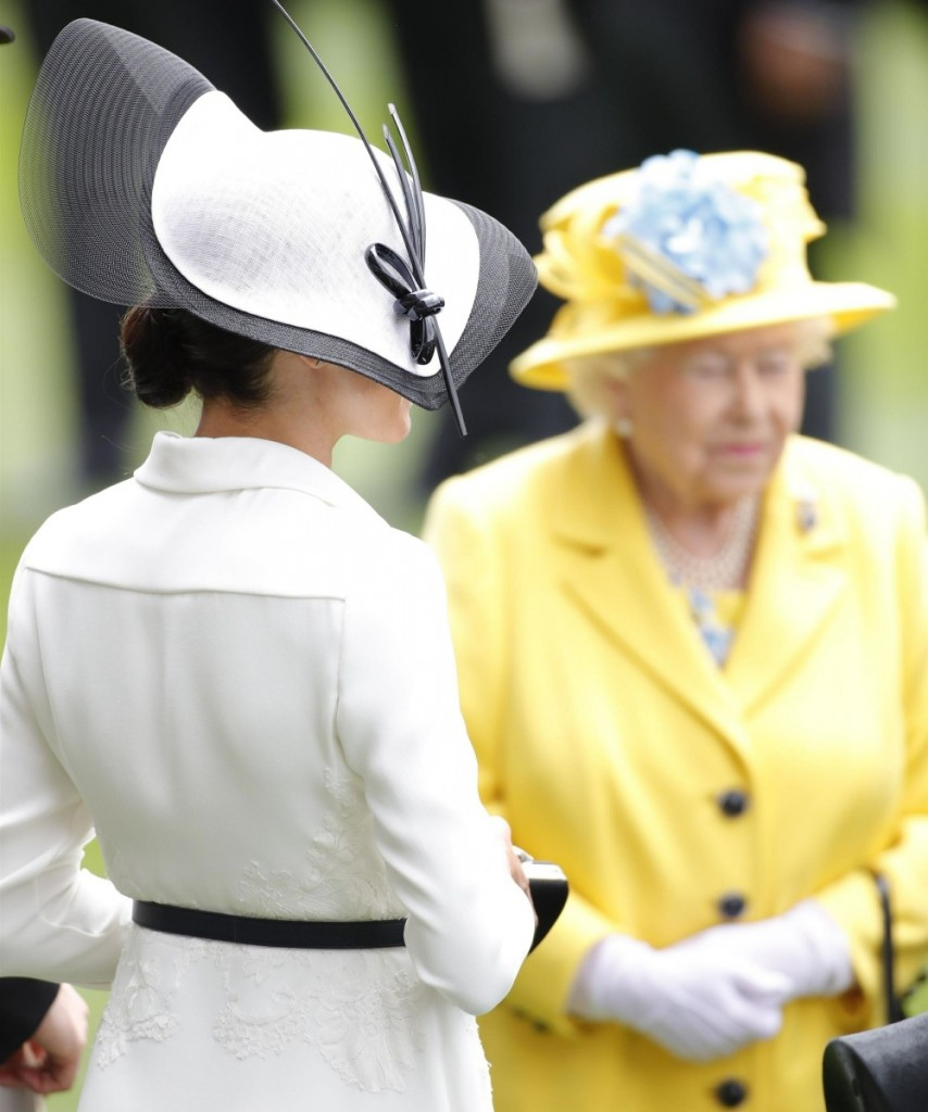 The British Royal family enjoys day 1 of Royal Ascot 2018