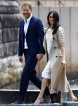 Prince Harry and pregnant Meghan Markle step out in Sydney
