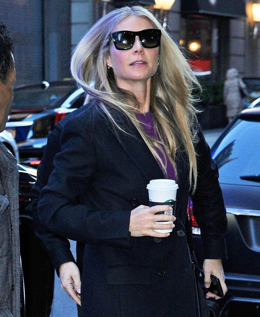 Gwyneth Paltrow is ready for 'Good Morning America' in New York