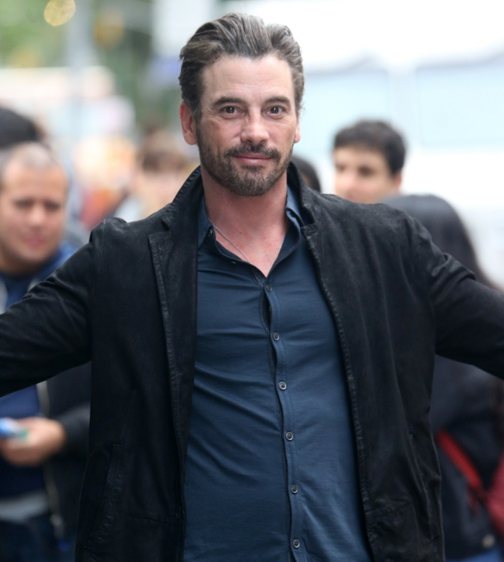 Skeet Ulrich visits Build Studio in New York promoting 'Riverdale'