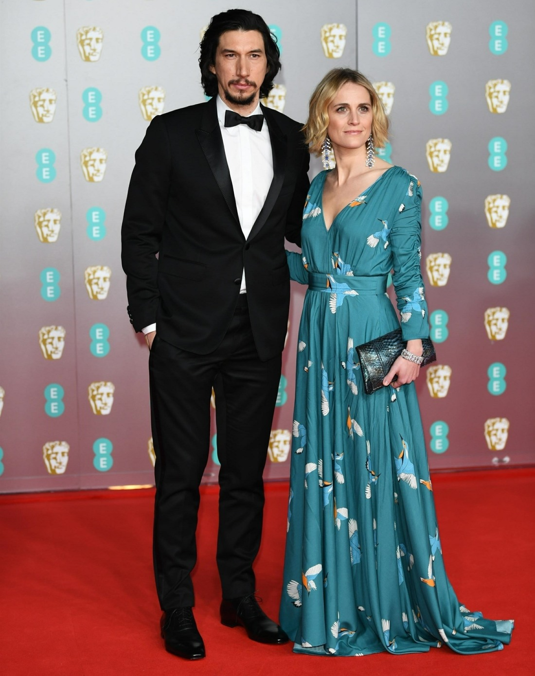 Guests arrive at the EE British Academy Film Awards 2020 at Royal Albert Hall