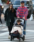 Justin Timberlake and Jessica Biel enjoy a family lunch