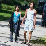 Camila Cabello tries to shake Shawn Mendes awake as couple step out for morning walk WITHOUT their coffee!