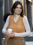 Kendall Jenner stuns in autumn tones