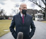 Biden Departs for Walter Reed National Military Center