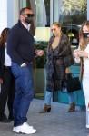 Jennifer Lopez and Alex Rodriguez grab a bite together