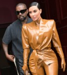 Kim Kardashian files for divorce from Kanye West as she seeks joint custody of their four children **FILE PHOTOS**