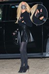 Paris Hilton puts on a leggy display as she steps out to a late night dinner with her fiancé in Malibu