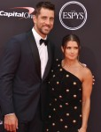 Aaron Rodgers, Danica Patrick at the 2018 ESPYS at Microsoft Theater at L.A. Live in Los Angeles