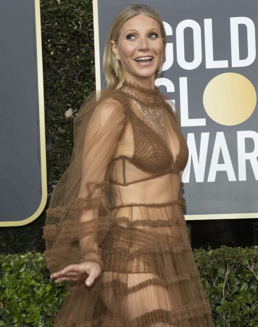 Gwyneth Paltrow attends the 77th Annual Golden Globe Awards, Golden Globes, at Hotel Beverly Hilton in Beverly Hills, Los Angeles, USA, on 05 January 2020.   usage worldwide