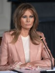 Melania Trump Hosts an Interagency Meeting