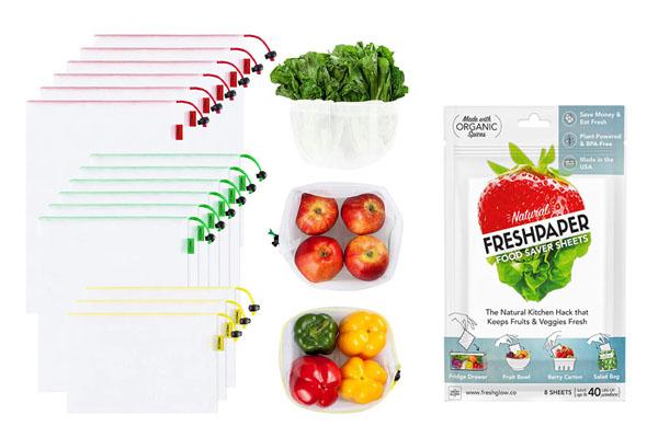 ProduceBagsandFreshpaper