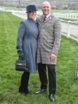 Zara Tindall & Mike Tindall arrive at Day 3 , The Festival , St Patrick's Day , Cheltenham Racecourse, Cheltenham , Glos