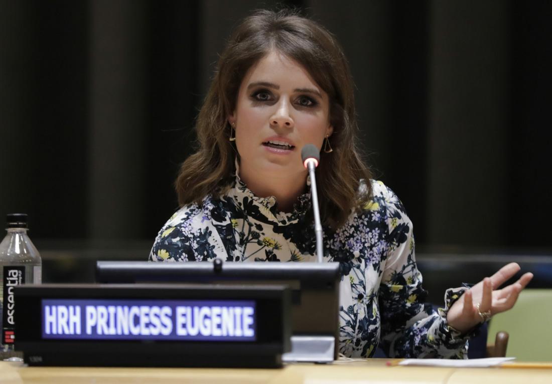 Princess Eugenie of York at UN to Help Abolishing Modern Slavery