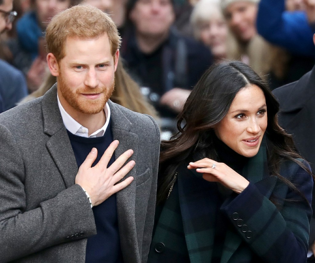 Prince Harry and Ms. Meghan Markle visits Edinburgh