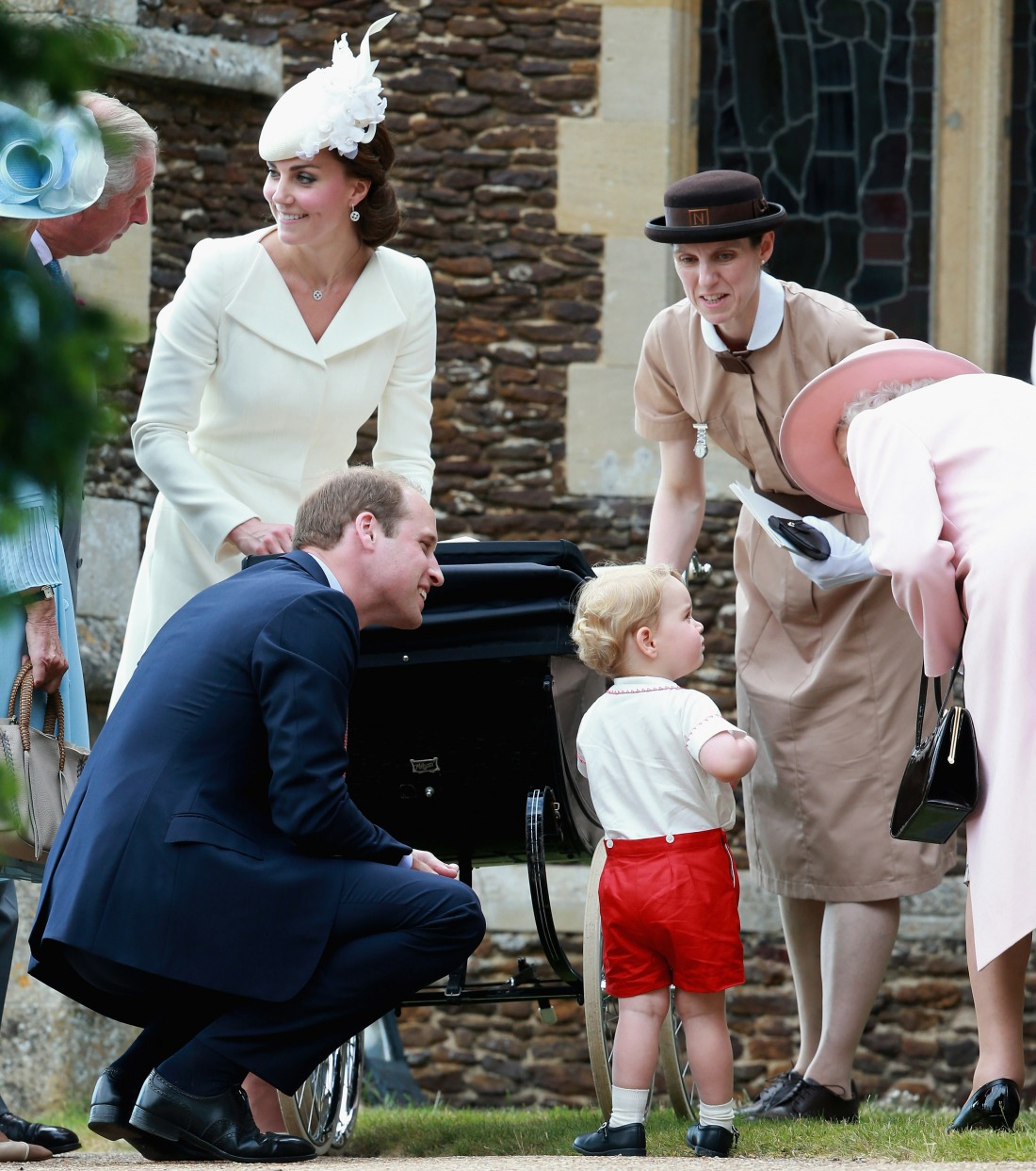 The Christening Of Princess Charlotte Of Cambridge