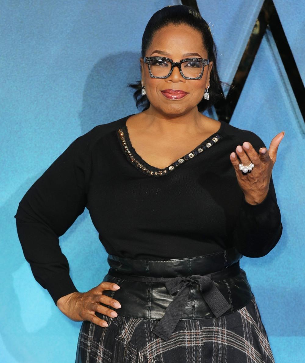 Oprah Winfrey at 'A Wrinkle In Time' UK film premiere in London